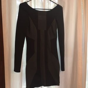 ASOS long sleeve tight fitted dress.